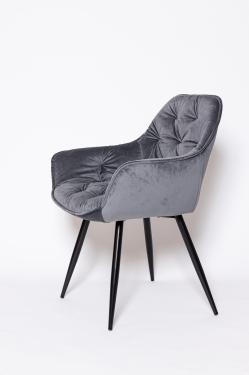 Кресло DC147-1 серое