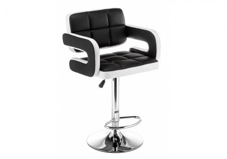 Барный стул Венд черный / белый