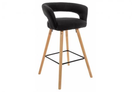 Барный стул Мару черный