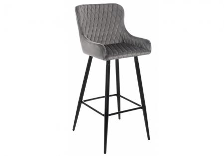 Барный стул Манд серый