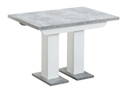 Стол Клод 110-165 бетон