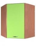 Шкаф ВУ угловой 1 дверь глухая с сушкой Размер 600x600x720