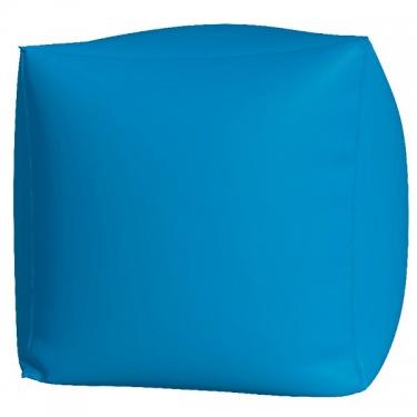 Пуфик Куб макси голубой