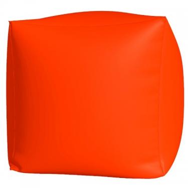 Пуфик Куб макси оранж люмин