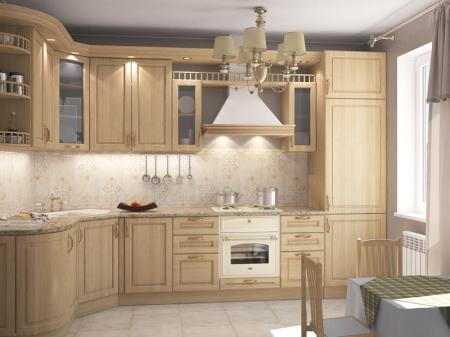Кухонный гарнитур Дуб светлый