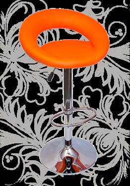 Стул барный 5001 оранжевый