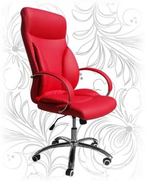 Кресло для руководителя LMR-104B красное