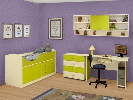 Кровать с ящиками Антошка