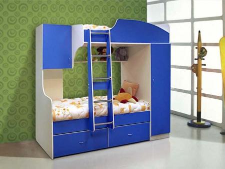 Кровать двухярусная №4