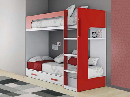 Кровать двухярусная №7