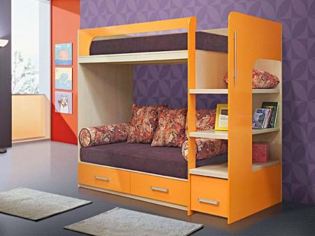 Кровать двухярусная №8