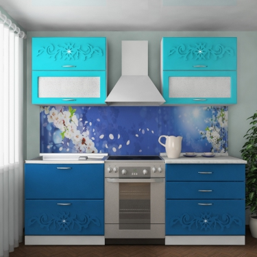 Кухонный гарнитур Лазурь