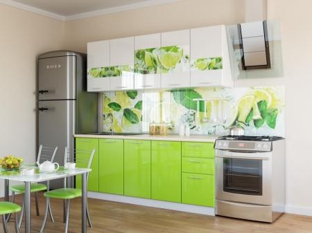 Кухонный гарнитур Лайм 2 м