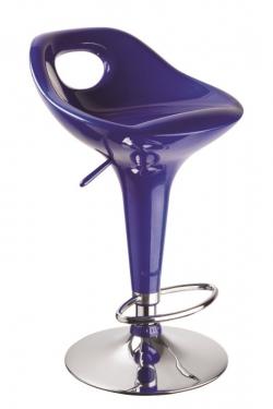 Барный стул 1007 синий
