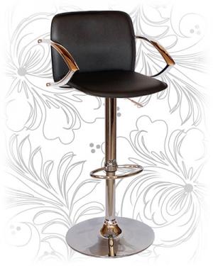 Барный стул 3019 черный