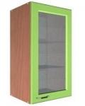 Шкаф В-500 с 1 дверью со стеклом Размеры 500х300х720