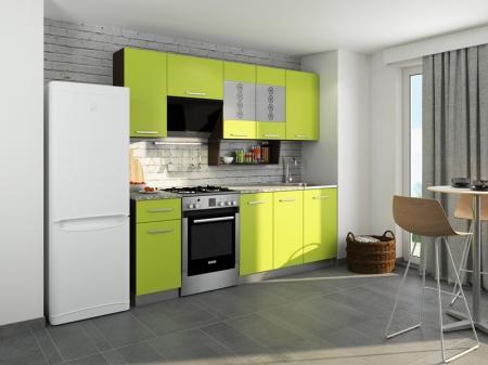 Кухня София-6 Венге/Лайм
